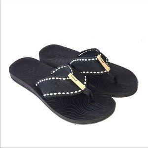 Reef Black Flip Flops